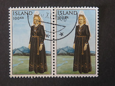 Iceland 1965 National Costume 100Kr Pair High Values - High CV