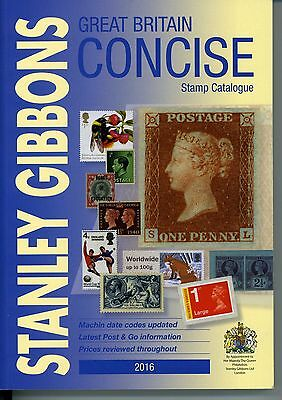 Stanley Gibbons Great Britain Concise Stamp Catalogue 2016