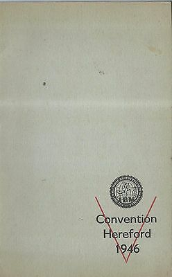 Intrnational Bortherhood of Magician's Conventions brochures from 1946 to 1955