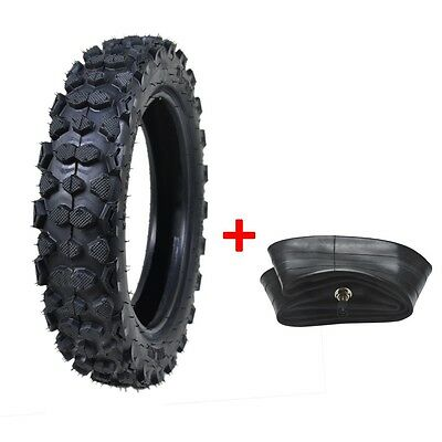 "80/100-10"" 3.00-10"" Inch Rear Back Tyre Tire + Inner Tube PIT Trail Dirt Bike AU"