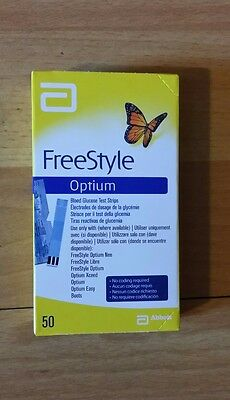 X50 strips.Freestyle optium blood glucose test strips.*GREAT DATES 08/09 2018