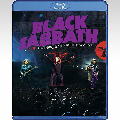 Black Sabbath: Gathered in Their Masses - Live Blu Ray #K0623