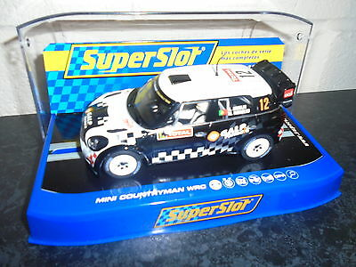 Scalextric/Superslot H3385 Mini Countryman WRC #12  DPR ready/ lights M/B