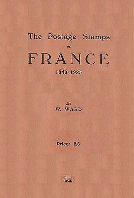 STAMPS OF FRANCE Book With Section To Identify Forgery Fake Faux Timbres - CD