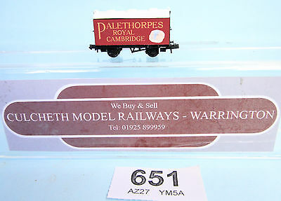 Kit Built 'n' Gauge Palethorpes Box Van Wagon Boxed #651W