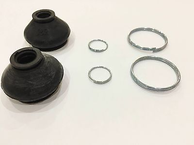 Mazda 6 TS2 Rubber Ball Joint Boots Dust Cover x 2 - FREE Metal Securing Clamps