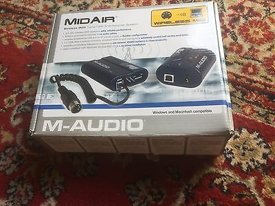M-Audio MidAir wireless MIDI system-with repaired battery box