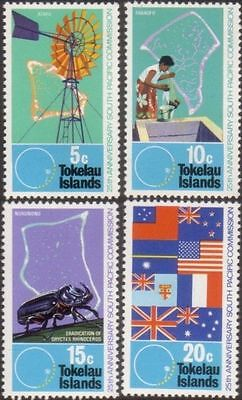 Tokelau 1972 SG33 South Pacific Commission set MNH