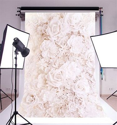 Flowers Baby Photography Backgrounds 5x7ft Vinyl Studio Photo Backdrops Props