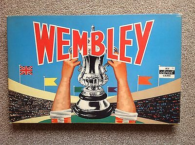 Vintage Wembley The Famous Ariel Cup Tie Board Game 1960s