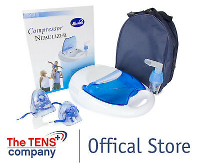 Med-Fit Compressor Nebuliser Complete with comprehensive range of accessories