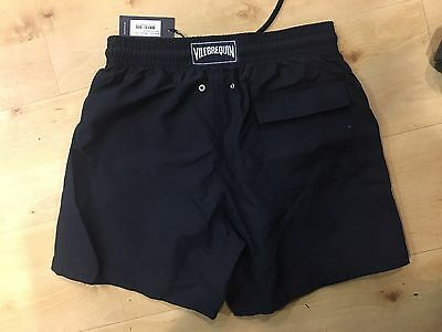 Men's Navy Vilebrequin Swim Shorts Large