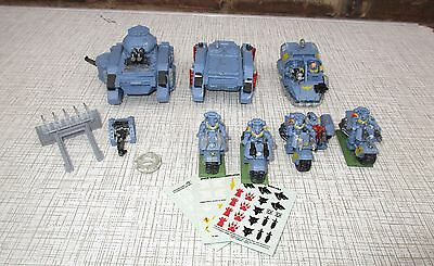 Job Lot Mixed Warhammer Space Marine 40K Vehicle/tank/motorbike Plastic/metal