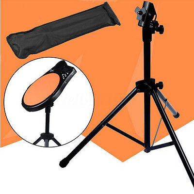 Practice Training Drum Pads Cymbal Stand Hardware Mount Braced Holder Tripod