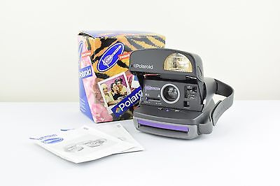 Vintage Polaroid cool cam instant film camera with box