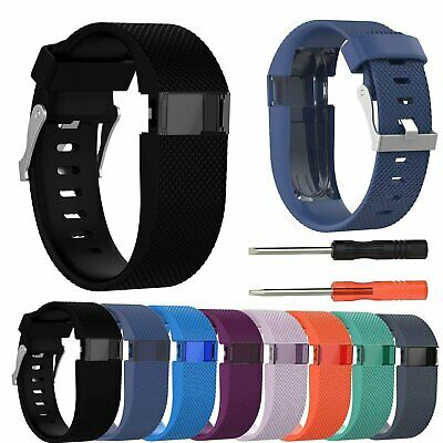 Silicone Replacement Band Bracelet Wrist Strap For Fitbit Charge HR with Tool US