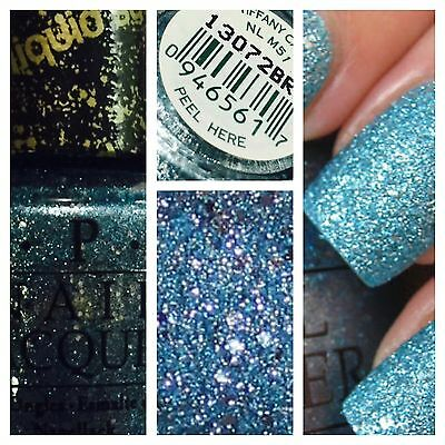 OPI Nail Polish Lacquer 15ml Liquid Sand MATTE TIFFANY CASE Free Safe Postage