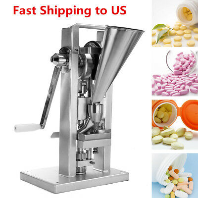 Handle Manual Type Single Punch Tablet Press Pill Making Machine Maker TDP-0