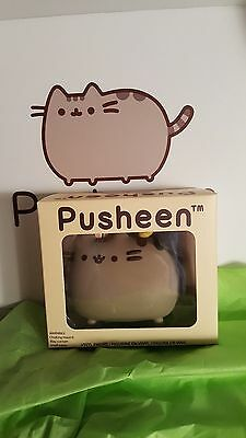 Pusheen Box Spring 2017 Vinyl Pusheen Figure with Bunny Ears and Chick NEW