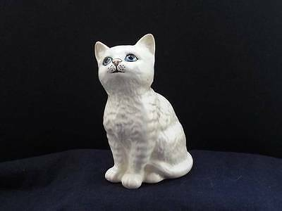 A Lovely Beswick Seated White Cat - 1886
