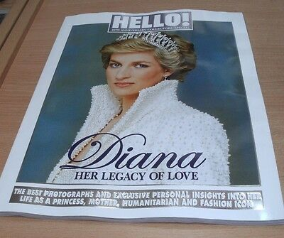 Hello! Magazine 20th Anniversary Collectors' Special Diana Her Legacy of Love