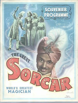 SORCAR. An important archive relating to this great magician, 1930's onwards