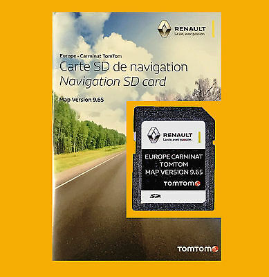 2017 Renault CARMINAT TomTom SD Card UK ALL EUROPE Map Megane Clio Laguna Scenic