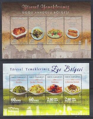 2015, 2016 Turkey Traditional Food Gastronomy From Anatolia And Aegean Region Ss