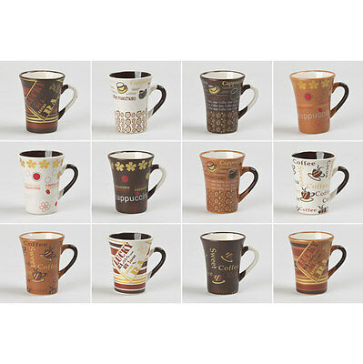 Tasse Cafe 10 Cl Collector Assorties  (Lot De 6)