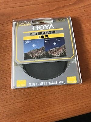 Hoya 62mm Circular Polarising Filter