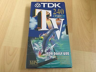 TDK E 240 TV Blank Tape