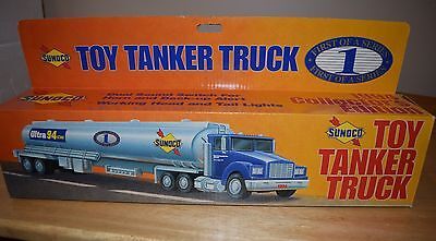 SUNOCO TOY 1994 TANKER TRUCK 1st IN THE SERIES , Lights & Sounds NIB