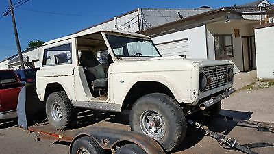 1972 Ford Bronco  1972 Ford Bronco Project