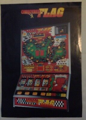 CHEQUERED FLAG, CLUB FRUIT MACHINE, GLOBAL Games, Fruit Machine Release Details.