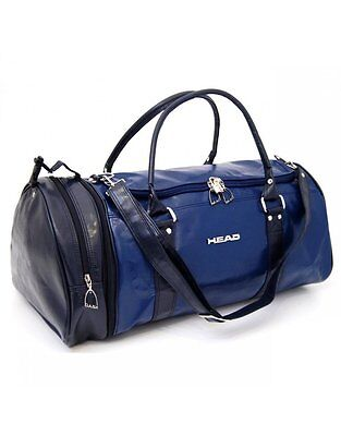 Head Classic Monte Carlo Leather Look Sports Travel Holdall Duffle Bag *SALE*