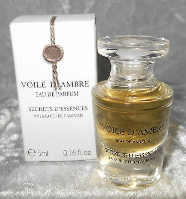 Yves rocher Voile d,ambre   5 ml edp  Free shipping worldwide