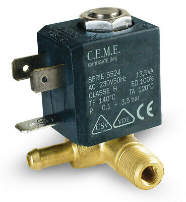 Ceme Magnetic Valve with Steam Regulation Merlin Cleaner Polti