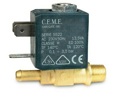 CEME 588 Solenoid valve for Ironing Station*Steam Station Laurastar and Other