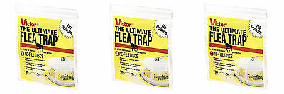 5 packs of 3  Victor M231 Refill Discs For M230 Ultimate Flea Trap Catcher