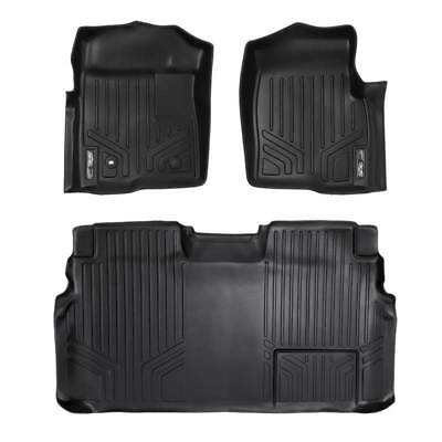Maxliner 2009-2010 Ford F-150 Super Crew Cab Floor Mats Complete Set Black