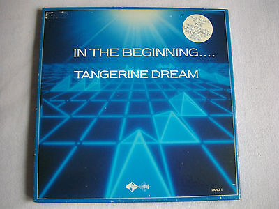 Tangerine Dream – In The Beginning.... Box Set,Jive Electro – TANG 1,UK issue