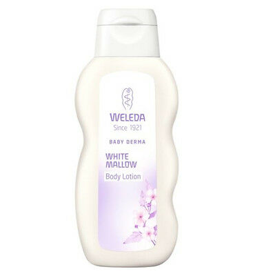 Weleda White Mallow Body Lotion - 100% Natural Soothing For Hypersensitive Skin