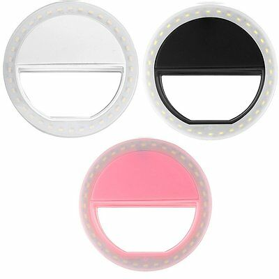 36 LED Smartphone Selfie Ring Fill Light Camera Photography F Android Cell Phone