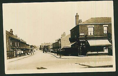 Postcard - Birmingham Co-op Society,Couchman Road, Saltley - Real Photo c1915