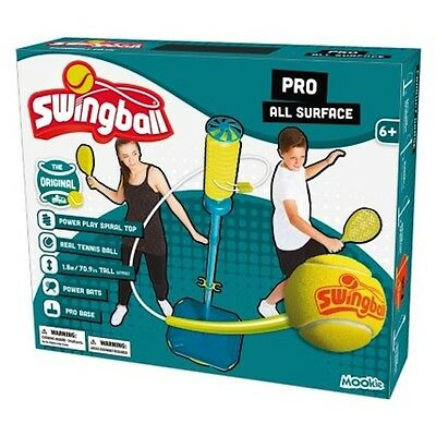 All Surface  Swingball Pro Tennis Ball Game Garden Home Solo Or Double Games NEW