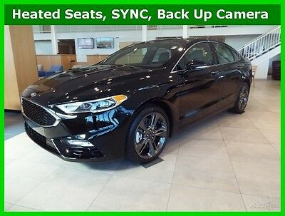 2017 Ford Fusion Sport 2017 Sport New Turbo 2.7L V6 24V Automatic AWD Sedan Premium