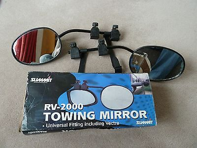 Towing Mirrors Clamp On Like Milenco, Summit Rv2000