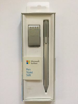 NEW Microsoft Surface Pen For Surface Pro 3/ 4 Surface Book 3XY-00002 Silver