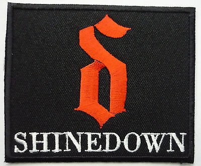 SHINEDOWN embroidred red patch Buckcherry Alterbridge Creed Sixx:A.M. Stone Sour