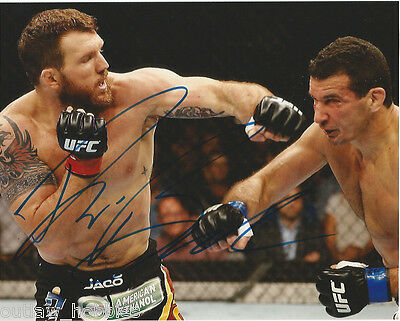 UFC Ryan Bader Signed Autographed 8x10 Photo COA